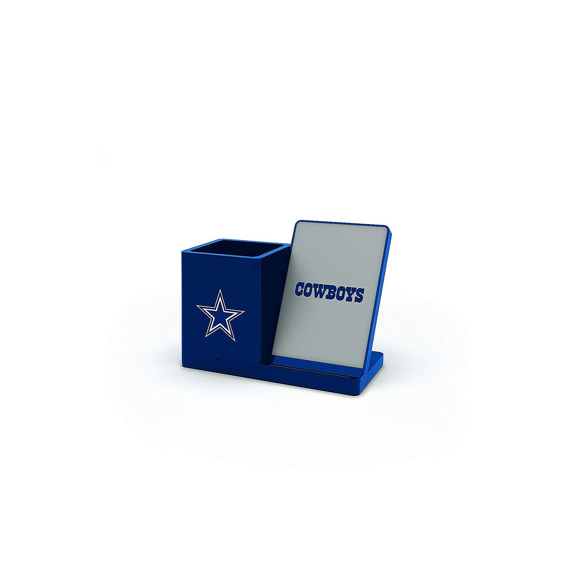 Dallas Cowboys Wireless Charging Pen Holder