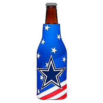 Dallas Cowboys Patriotic Bottle Coolie