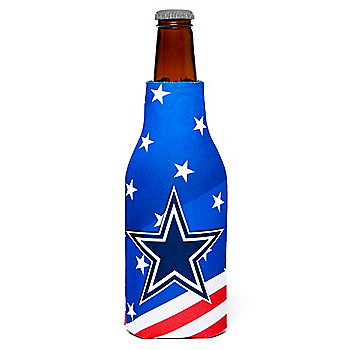 Dallas Cowboys Patriotic Bottle Coolie