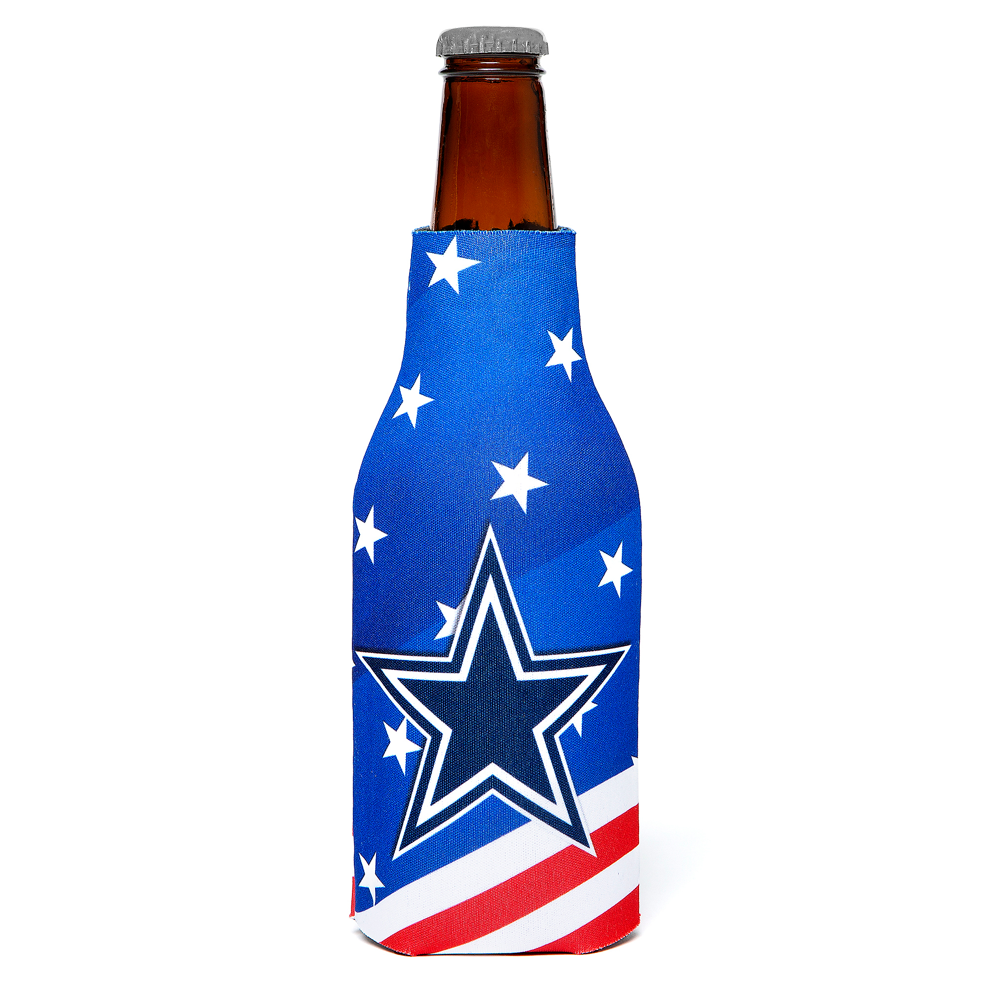 Dallas Cowboys Patriotic Bottle Cooler