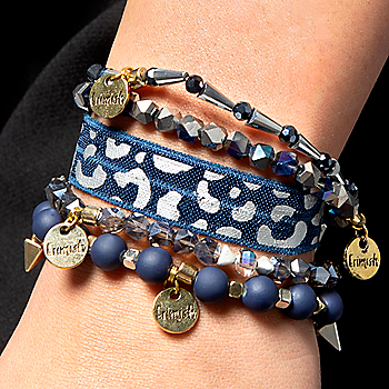 Studio Erimish Gameday Stack Star Bracelet Set