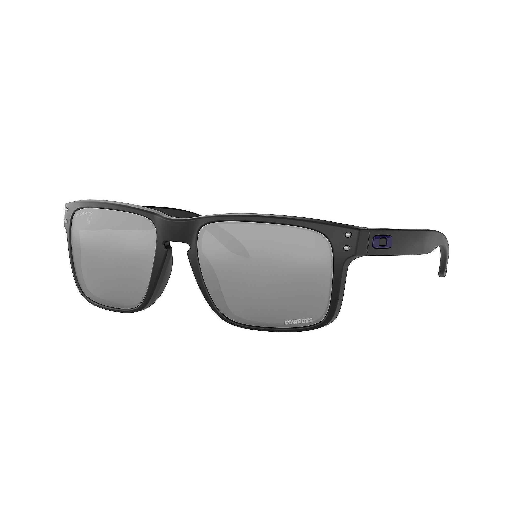 Dallas Cowboys Oakley Mens Holbrook Matte Black Sunglasses