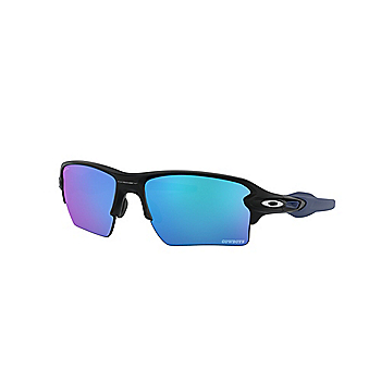 Dallas Cowboys Oakley Mens Flak 2.0 XL Matte Black Sunglasses