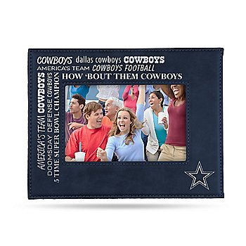 Dallas Cowboys Laser Engraved Picture Frame