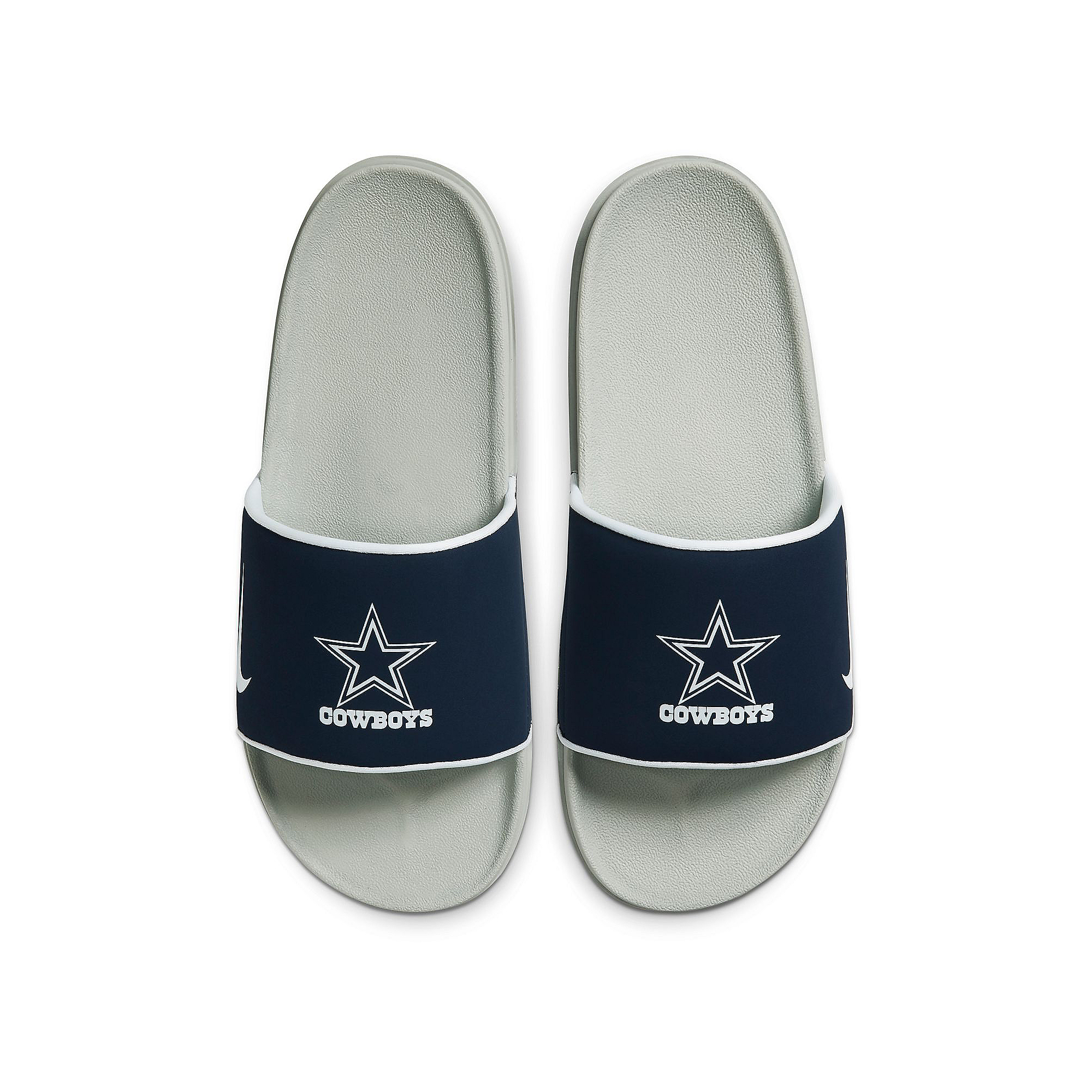 Dallas Cowboys Nike Mens Offcourt Slides