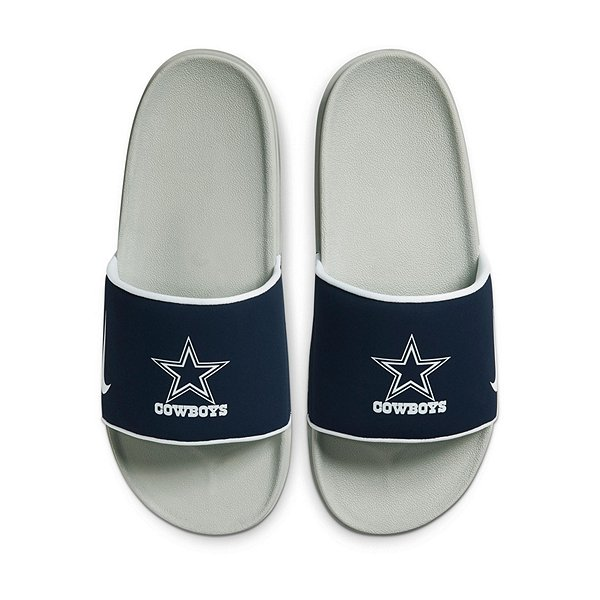 Dallas Cowboys Nike Mens Offcourt Slides