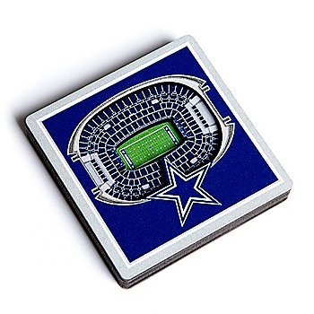 Dallas Cowboys 3D Stadiumview Magnet