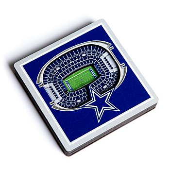 Dallas Cowboys 3D Stadiumview Magnet