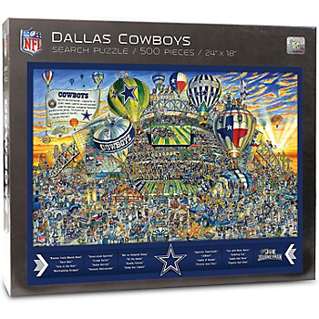 Dallas Cowboys Joe Journeyman Puzzle