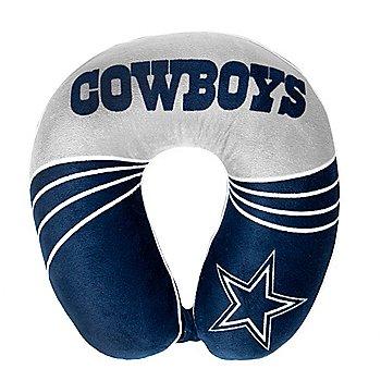 Dallas Cowboys Wave Print Neck Pillow