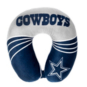 Dallas Cowboys Wave Print Neck Pillow