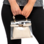 Gemelli Erica Clear Handbag