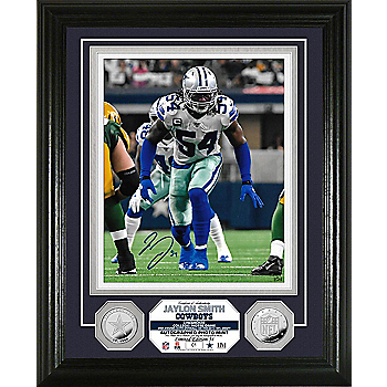 Dallas Cowboys Jaylon Smith Autographed Photo Mint Frame
