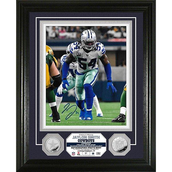 Dallas Cowboys Jaylon Smith Autographed Photo Mint Frame