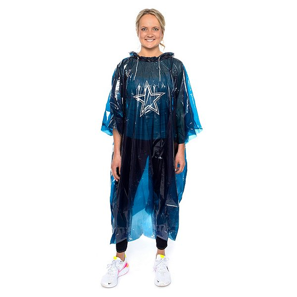 Dallas Cowboys Stormfront Rain Poncho