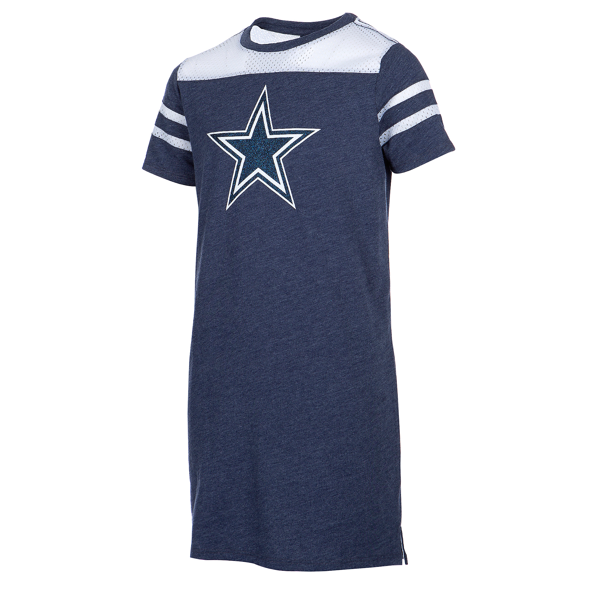 Dallas Cowboys Girls Cascade Dress