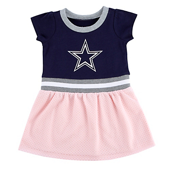 Dallas Cowboys Infant Zella Dress Set