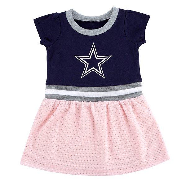 Dallas Cowboys Infant Zella Dress Set