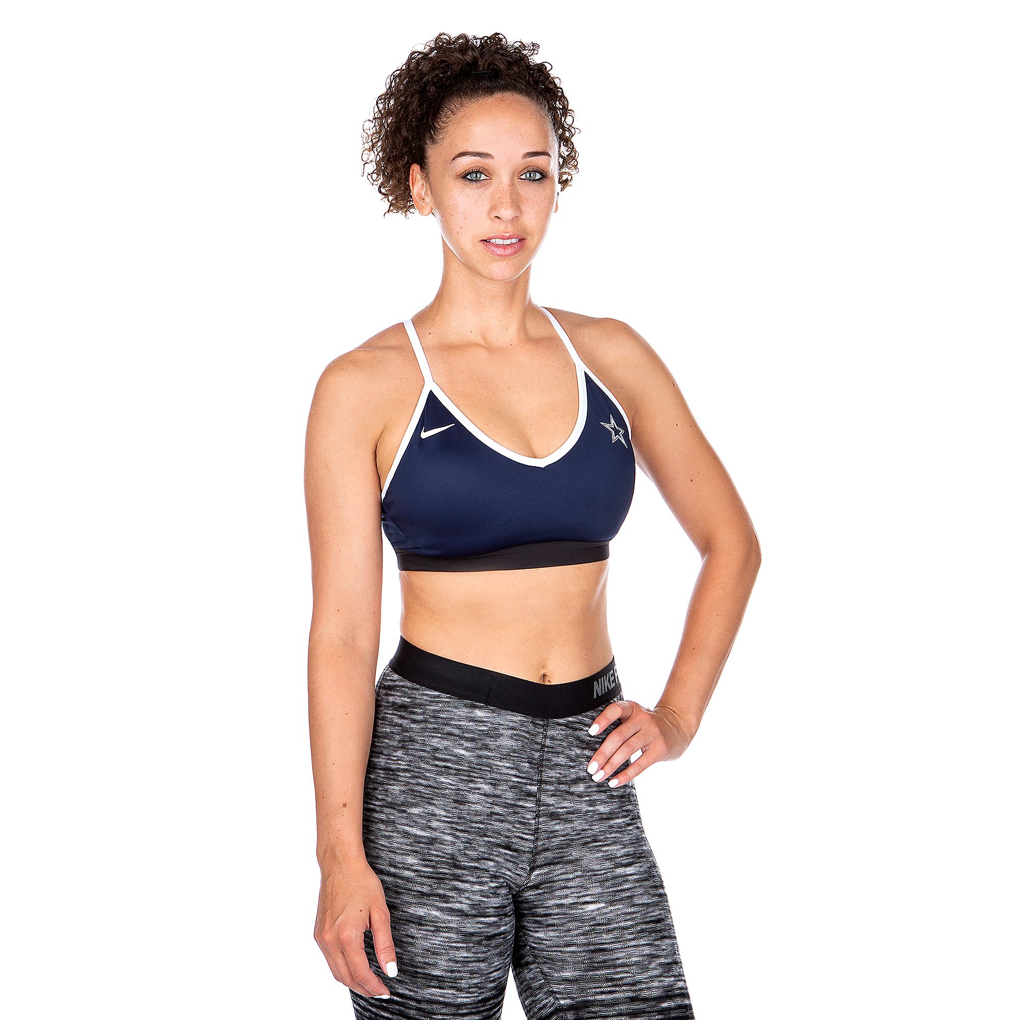 Dallas Cowboys Nike Womens Indy Sports Bra