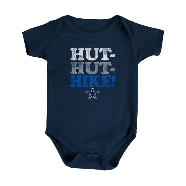 Dallas Cowboys Infant Sinclair Bodysuit