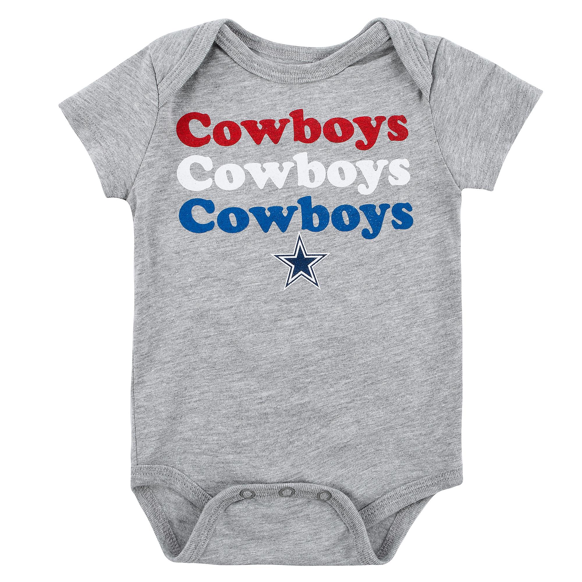 Dallas Cowboys Infant Joan Bodysuit