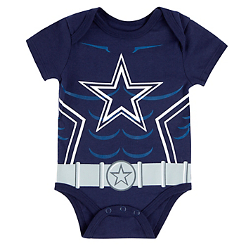Dallas Cowboys Infant Riot Short Sleeve Bodysuit