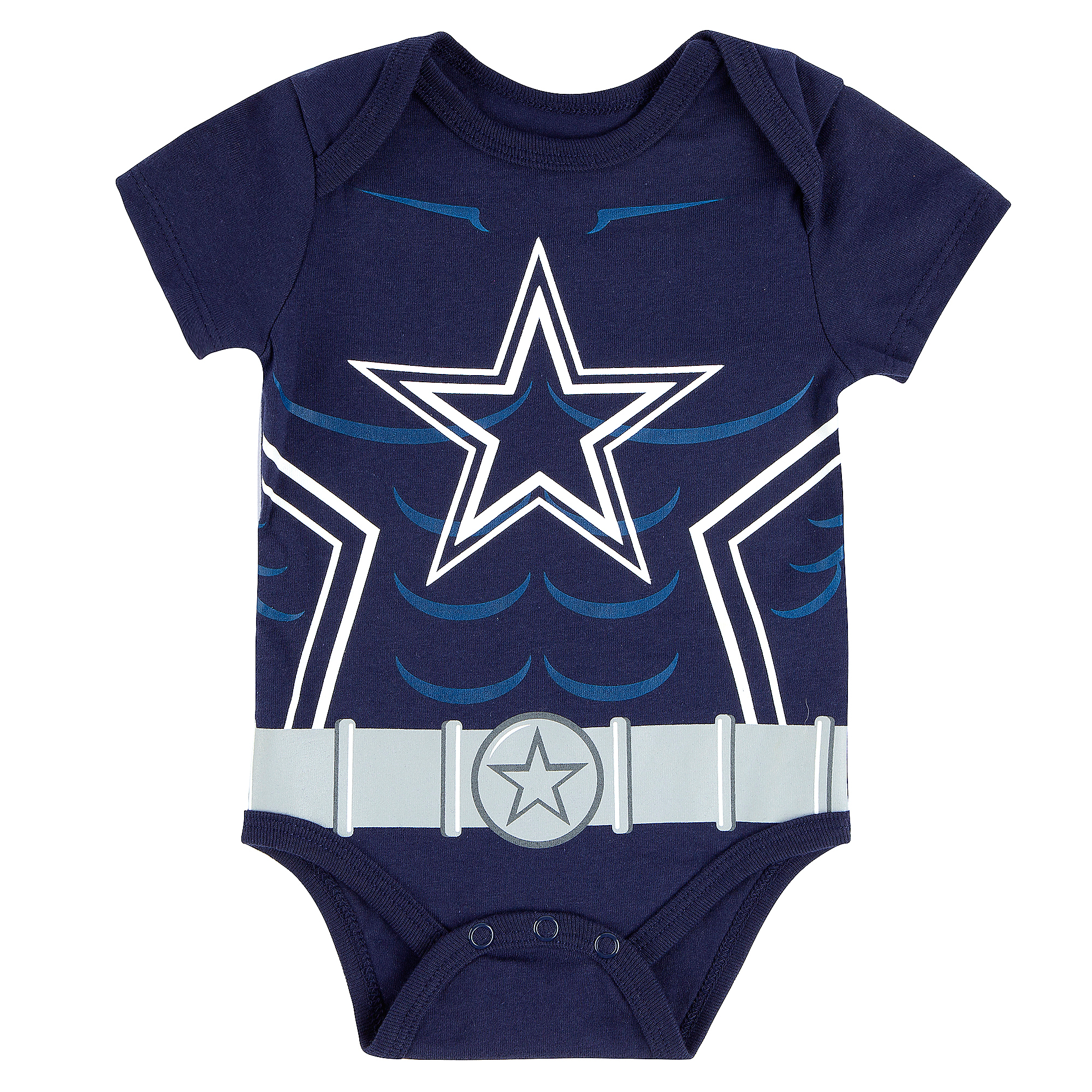 Dallas Cowboys Infant Riot Short Sleeve Onesie