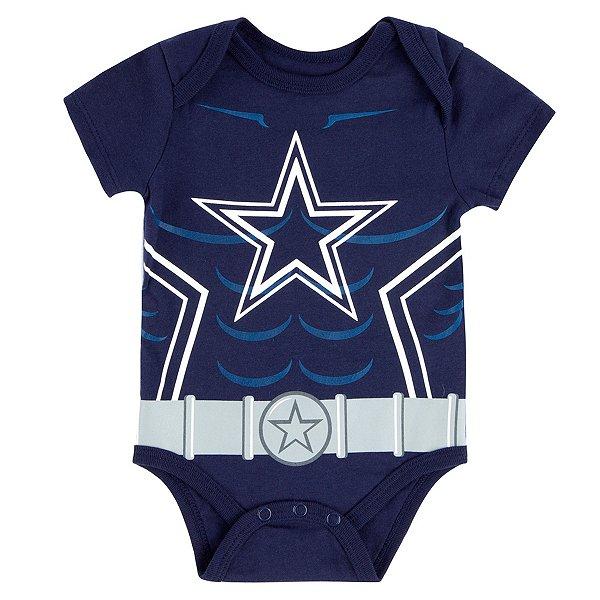 Dallas Cowboys Infant Riot Short Sleeve Bodysuit