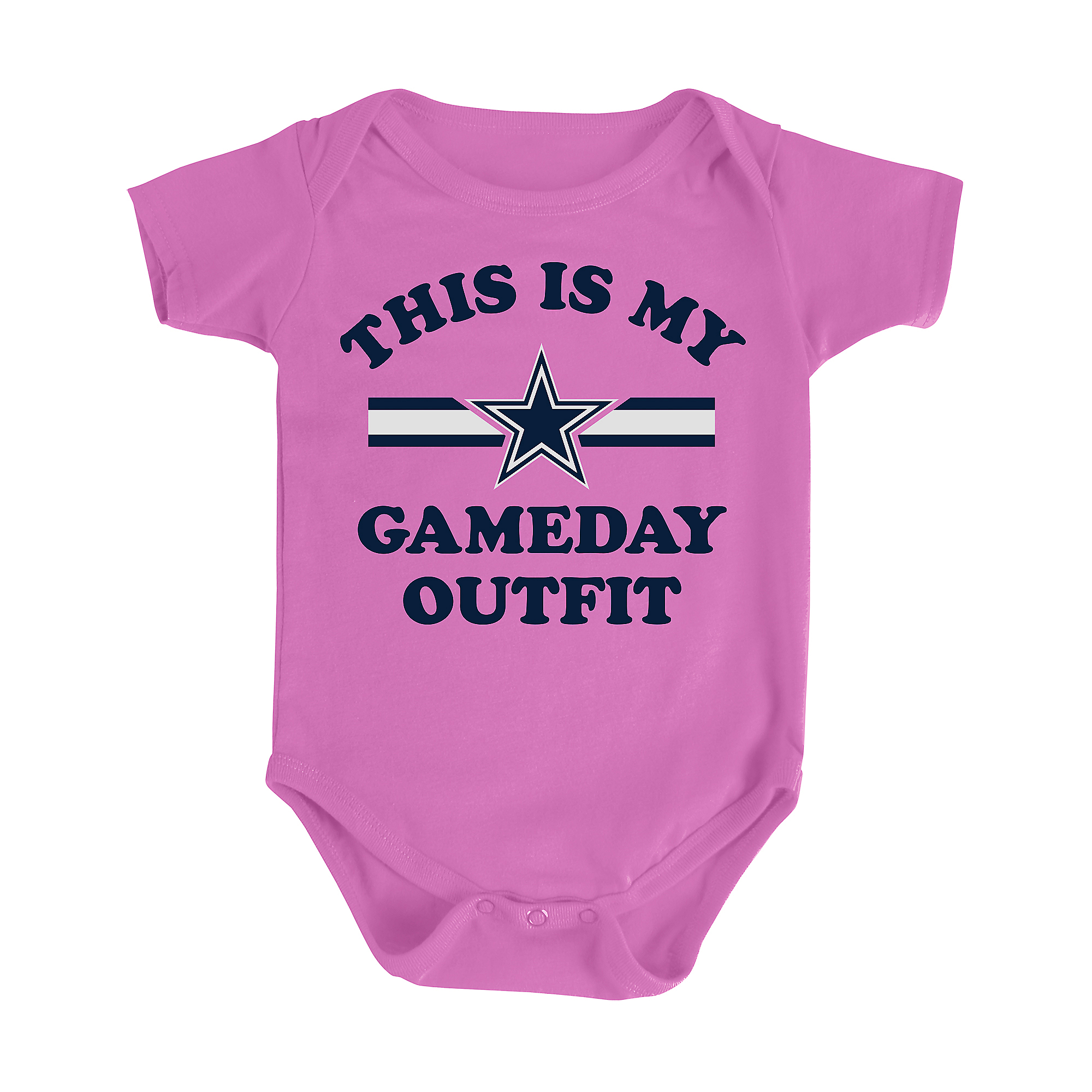 Dallas Cowboys Infant Gameday Outfit Onesie