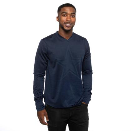 Dallas Cowboys Nike Alpha Mens Navy Player Long Sleeve Top