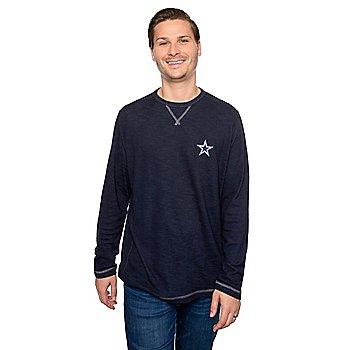 Dallas Cowboys Tommy Bahama Mens Sport Barrier Crew Shirt
