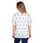 Studio Vintage Havana Star Tie Front T-Shirt