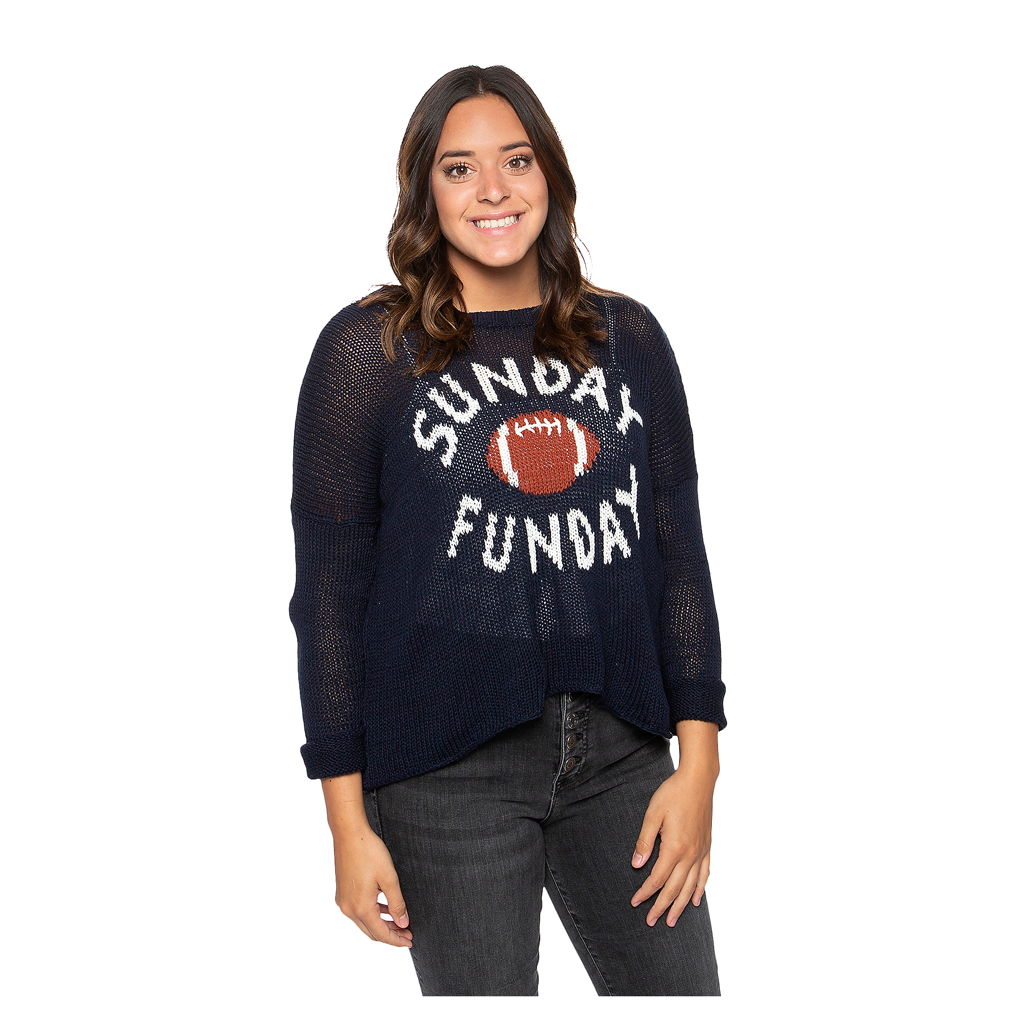 Studio Wooden Ships Sunday Funday Crew Sweater
