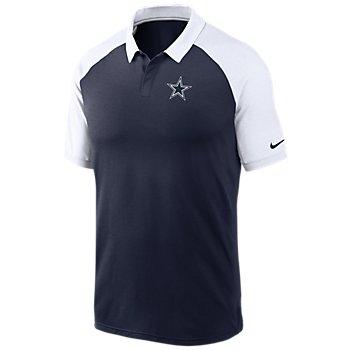 Dallas Cowboys Nike Mens Logo Raglan Polo