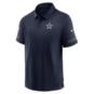 Dallas Cowboys Nike Mens Team Logo Flex Short Sleeve Polo