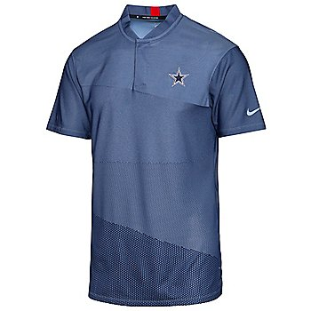 Dallas Cowboys Nike Dri-FIT Tiger Woods Blade Golf Polo