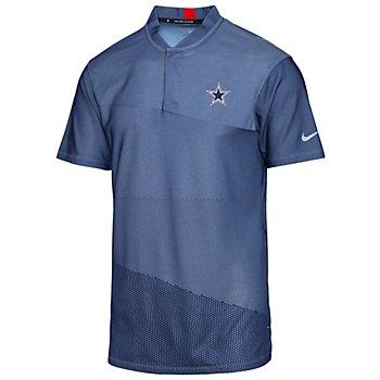Dallas Cowboys Nike Dri-FIT Tiger Woods Blade Golf Polo