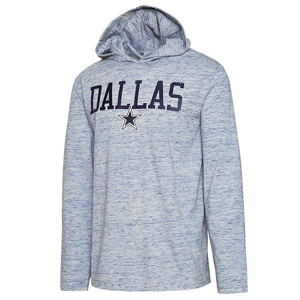 Dallas Cowboys Mens Zophar Long Sleeve Hooded T-Shirt