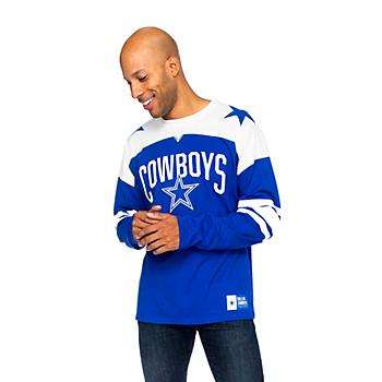 Dallas Cowboys Mens Rivalry Long Sleeve T-Shirt
