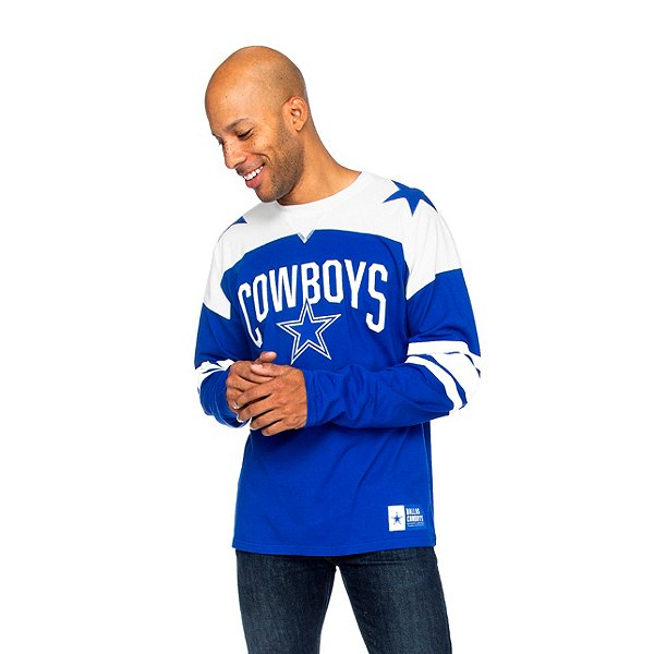 Dallas Cowboys Mens Rivalry Long Sleeve T-Shirt