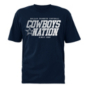 Dallas Cowboys Mens Baylis Short Sleeve T-Shirt
