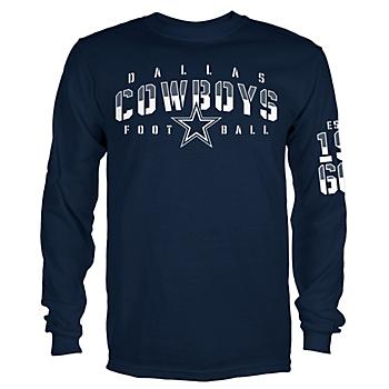 Dallas Cowboys Mens Dorance Long Sleeve T-Shirt