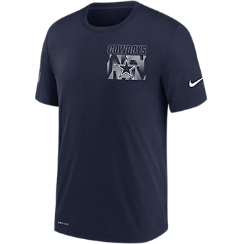 Dallas Cowboys Nike Mens Playbook Team Logo Dri-FIT Facility T-Shirt