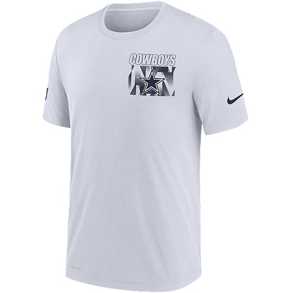 Dallas Cowboys Nike Dri-FIT Mens Playbook Team Logo Facility T-Shirt