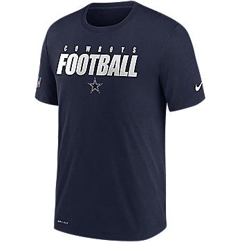 Dallas Cowboys Nike Mens Football All Dri-FIT Short Sleeve T-Shirt
