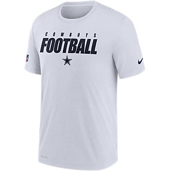 Dallas Cowboys Nike Dri-FIT Mens Football All Short Sleeve T-Shirt