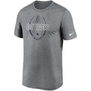 Dallas Cowboys Nike Mens Icon Legend Short Sleeve T-Shirt