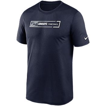 Dallas Cowboys Nike Mens Football All Legend Short Sleeve T-Shirt