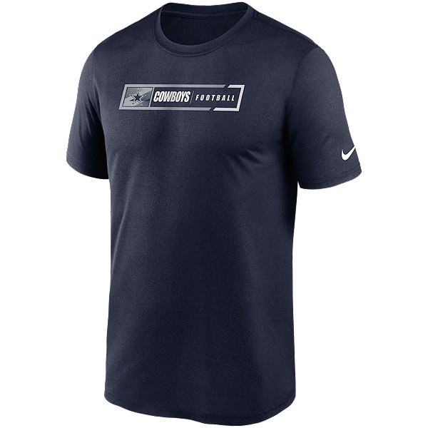Dallas Cowboys Nike Mens Football All Legend Short Sleeve T-Shirt