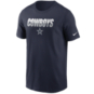 Dallas Cowboys Nike Mens Split Team Name Essential Short Sleeve T-Shirt